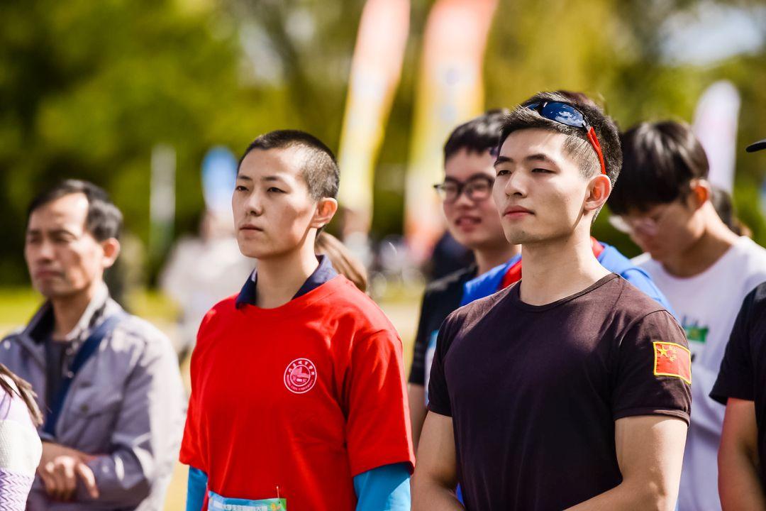 校团委组织学生参加首都高校大学生定向越野大赛